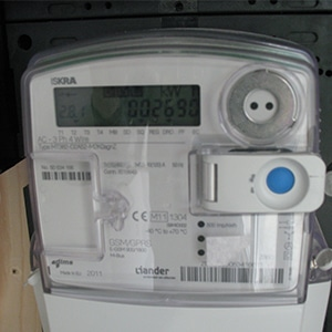 Kwh meter voor zonnepanelen