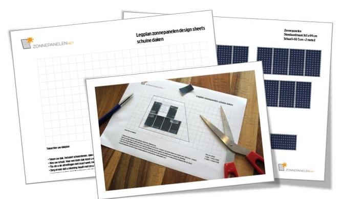 legplan zonnepanelen maken