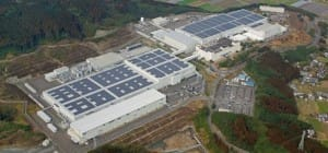 Solar Frontier Productie in Japan