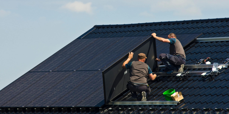 vermogen zonnepanelen