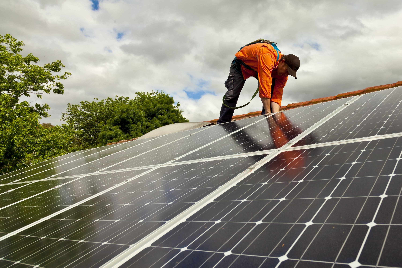 zonnepanelen vermogen